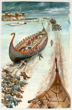 Viking  http://www.danielmaghen.com/fr/pierre-joubert-la-vie-privee-des-hommes-au-temps-des-viki_p54446.htm