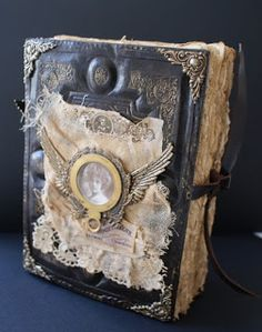 altered book by Sarah Fawcett