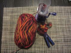 Breimolen en sokkenwol,  Strickmühle