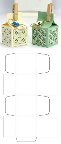 Little souvenir box template Get it for free in PDF in my website Diy Gift Box, Paper Gift Box, Diy Box, Paper Gifts, Diy Paper Box, Paper Boxes, Homemade Gifts, Diy Gifts, Cute Crafts