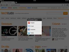 Chrome para iOS ganha compartilhamento de páginas com Twitter e Facebook