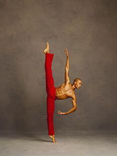 Regal in red. http://theworlddances.com/ #ballet #dance