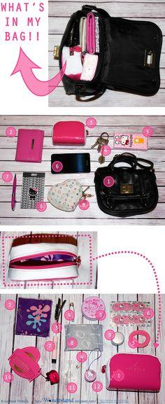Wonderland: Week planner #1 _ Dentro la borsa e quel che Lucy vi trovò  #bag #fashion #myglossyhandbag