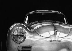 Porsche 356 drawing Vintage Porsche, Vintage Cars, Porsche 911 Classic, Royce Car, Porsche 356 Speedster, Cool Sports Cars, Sport Cars, Jaguar Xk, Porsche Cars