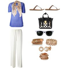 """Lazy Day Glamorous Outfit"" by hockeyliz-x on Polyvore"