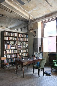 Industrial Loft Office - I will own you one day loft