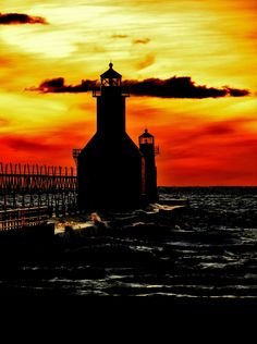 Warm Sunset Two by Kathleen Mendel
