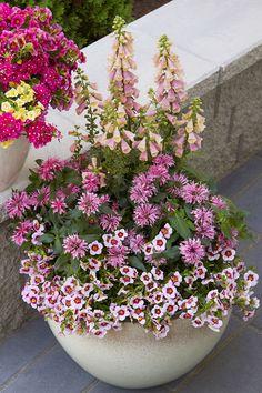 Mirren Round Planter. #indoor #outdoor #planter #garden #gardening #containergarden #patio #porch #flowerpot