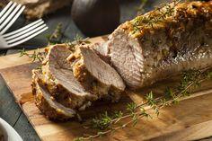 Egészben sült, fokhagymás szűzpecsenye: így lesz omlós és szaftos a hús Pork Tenderloin Recipes, Pork Loin, Pork Roast, Beef Tenderloin, Whole Foods, Whole Food Recipes, Cooking Recipes, Cake Recipes, Baked Pork