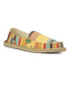 Look what I found on #zulily! Dusty Yellow Donna Slip-On Shoe - Women by Sanuk #zulilyfinds