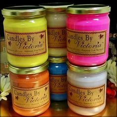 Candles by Victoria - Highly Scented Candles & Wax Tarts - 16 oz. Country Ultra Sampler Pack