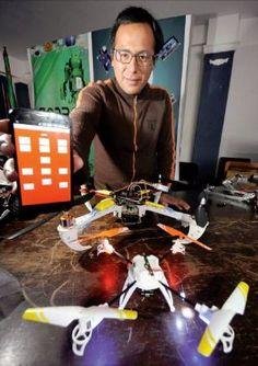 Peter Alanoca - Universitario  alteño crea un dron para obtener datos del clima