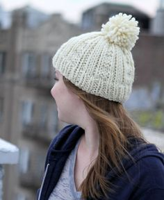 Hand Knit Chutes and Ladders Hat by WeAllKnitHere on Etsy