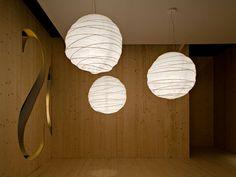 Once. Flos. Lámpara de techo de cocoon, acero. E27 1 x 205W + T5 1 x 8W Black Light. Incluidas. http://www.lamparasoliva.com/outlet/once-flos.html