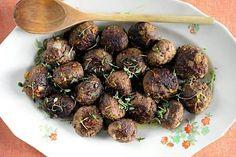Riistalihasta syntyy kuohkeat ja maukkaat lihapullat.