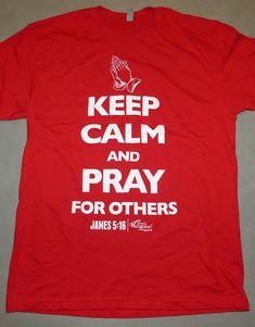 5a98c50d3fb Mens Christian T-shirt Pray for others whiteRed Praying For Others,  Christian Tattoos,