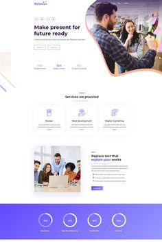 MyGncy - Agency Responsive Landing Page Template,