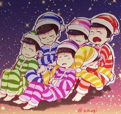 おそ松さん Osomatsu-san みんなトッティのパジャマ