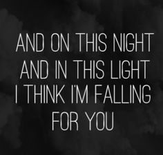 Falling For You, The 1975 #lyrics