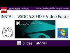 Install #VSDC 5.8 #FREE #Video #Editor on #Windows Problem Solving, Editor, Coding, Tutorials, Windows, Youtube, Free, Youtubers, Programming