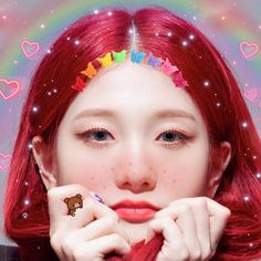 Image discovered by Ella ( 엘라 ). Find images and videos about cyber, messy and my edit on We Heart It - the app to get lost in what you love. Aesthetic Themes, Kpop Aesthetic, I Love Girls, Sweet Girls, South Korean Girls, Korean Girl Groups, Pretty Baby, Kpop Girls, American Girl