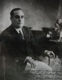 Luis Llorens Torres[note 1] (May 14, 1876 - June 16, 1944), was a Puerto Rican poet, playwright, and politician. He was an advocate for the independence of Puerto Rico.