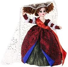"Duchess of Wonderland $103.96. The Duchess Of Wonderland from Alice in Wonderland is a 10"", fully articulated, Cissette, with brown eyes, red lips, and wonderfully wild red hair that's styled to resemble a reticulated headdress."