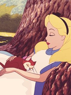 "You had a cat. You had it all. | Disney's ""Alice In Wonderland"" Scarred You For Life"