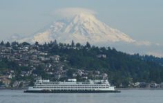 Mount Rainier Pictures From Seattle | Seattle Ferry & Mt. Rainier | Seattle Rex