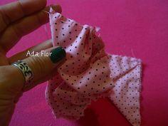Rosa de Fuxico - PAP 6 | Flickr – Compartilhamento de fotos! -  Alinhave até o fim...