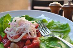 Strawberry Bibb Salad - Cinnabar at Hyatt Regency Crystal City
