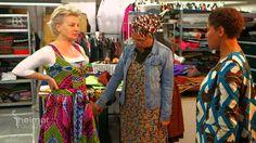 Afrikanische Dirndl | Heimatrauschen | BR // Die beiden Schwestern Rahmee und Marie aus Kamerun leben seit 30 Jahren in Bayern. Inspiriert von ihrer Kindheit in Afrika entwerfen die beiden Modedesignerinnen in ihrem Münchner Atelier afrikanische Dirndl. Aus typisch afrikanischen, farbenfroh-gemusterten Stoffen entstehen nach traditionellen bayerischen Schnitten moderne Dirndl à l'Africaine.