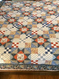 Old Quilts, Star Quilts, Scrappy Quilts, Mini Quilts, Vintage Quilts, Quilt Blocks, Quilting, Quilt Modernen, Primitive Quilts