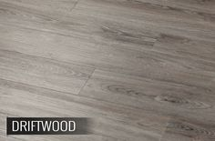 Can you believe this is vinyl flooring?? - Beautiful loose lay residential flooring that looks like driftwood