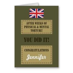 12 best passing out cards images on pinterest greeting cards passing out parade british army badge congrats greeting card army passing out m4hsunfo