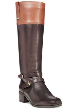 Women\'s Women Fergalicious Lundry Wide Calf Boot -Black - Black ...
