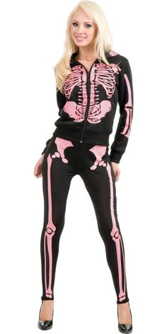 Adult Skeleton Hooded Sweatshirt - Horror, Gothic Costumes - Womens Costumes - Halloween Costumes - Categories - Party City