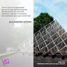 In commemoration of the 96th birthday of the Venezuelan art master  __ A 96 años del nacimiento del maestro venezolano #AlejandroOtero  #AlejandroOtero  #taldiacomohoy #artecinetico #Venezuela #iconosdeVenezuela #kineticart #DeltaSolar #Art #Arte #artnews #march #inspiration #inspiración #creatividad #creativity #love #venezuelan #venezolano #artmaster #master #tuesday #happytuesday #quotes #quote #artquotes #museum #VAG #artgallery #gallery #digitalgallery