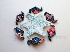 Star Hexies Tutorial + English Paper Piecing | Sew Mama Sew | Outstanding sewing, quilting, and needlework tutorials since 2005.