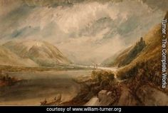 Junction of the Rhine and the Lahn | Turner. Large resolution image, ecard, rating, slideshow and more!