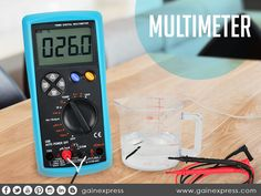 Whatever you are testing may it be #DC,#AC #voltage, #Current,#Resistance,#Capacitance,#Temperature, #Frequency tests, our Multimeter got it for you! It will give you nothing but #accurate and #exact measurement . Check out our newly design and easy to use #Multi Meter at http://www.gainexpress.com/products/e04-038-usb-interface-multimeter-tester-test-true-rms-ac-dc-current-voltage-resistance-capacitance-diode-temperature-duty-cycle-meter