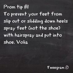 #PromPerfection #Tip1