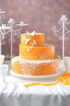 What a Gorgeous Summer Cake..!