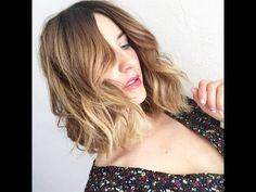 Short Wavy Hair TUTORIAL - YouTube