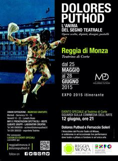 #CommediaDellArte #DoloresPuthod #PiccoloTeatro #Arlecchino #FerruccioSoleri #ReggiaDiMonza #EXPO2015