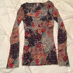 Anthropology Sweet Pea Stacy Frati Medium floral long sleeve Blouse 97551 | Clothing, Shoes & Accessories, Women's Clothing, Tops & Blouses | eBay!