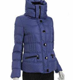 50% Discount Moncler Vosges Womens Jackets Large Lapel Dark Blue For Sale - $191.25 Cheap Moncler Jackets www.monclerlines....