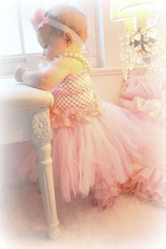 peach dress I better have a granddaughter someday