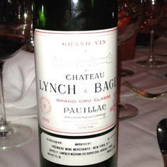 1990 Lynch Bages   This wine was amazing. Birthday 2010