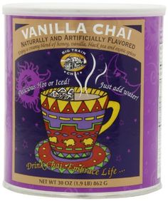 Big Train Chai Tea, Vanilla, 1.9 Pound - http://teacoffeestore.com/big-train-chai-tea-vanilla-1-9-pound/